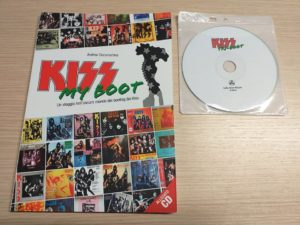 libro kiss my boot piu cd kiss italian tri-boot