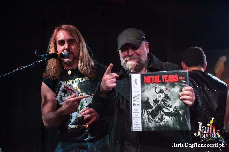 METAL FORCE: report del live di presentazione della compilation Metal Years Vol. 2 (Graal, Fenisia, Messerschmitt)