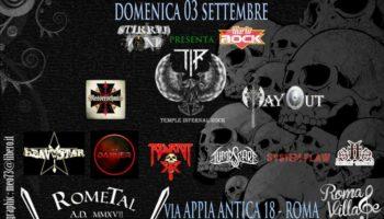 RoMetal Fest 2017 – Roma Village – Domenica 3 settembre 2017