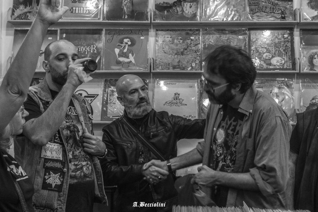 Presentazione nuovo CD Messerschmitt Raising hell presso Ace Records