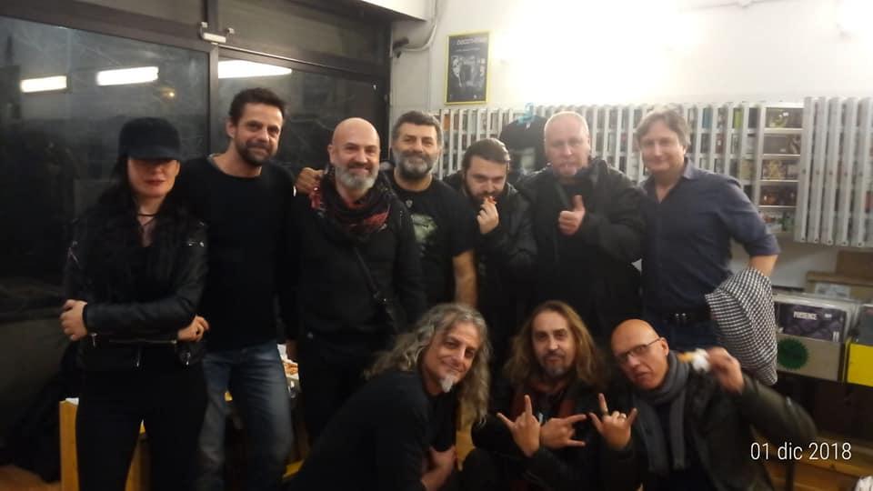 Sabato 1 dicembre i Messerschmitt presentano Raising Hell presso Pink Moon Records