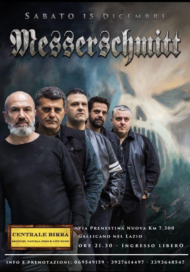 Sabato 15 dicembre 2018 Messerschmitt live a Gallicano (FR)