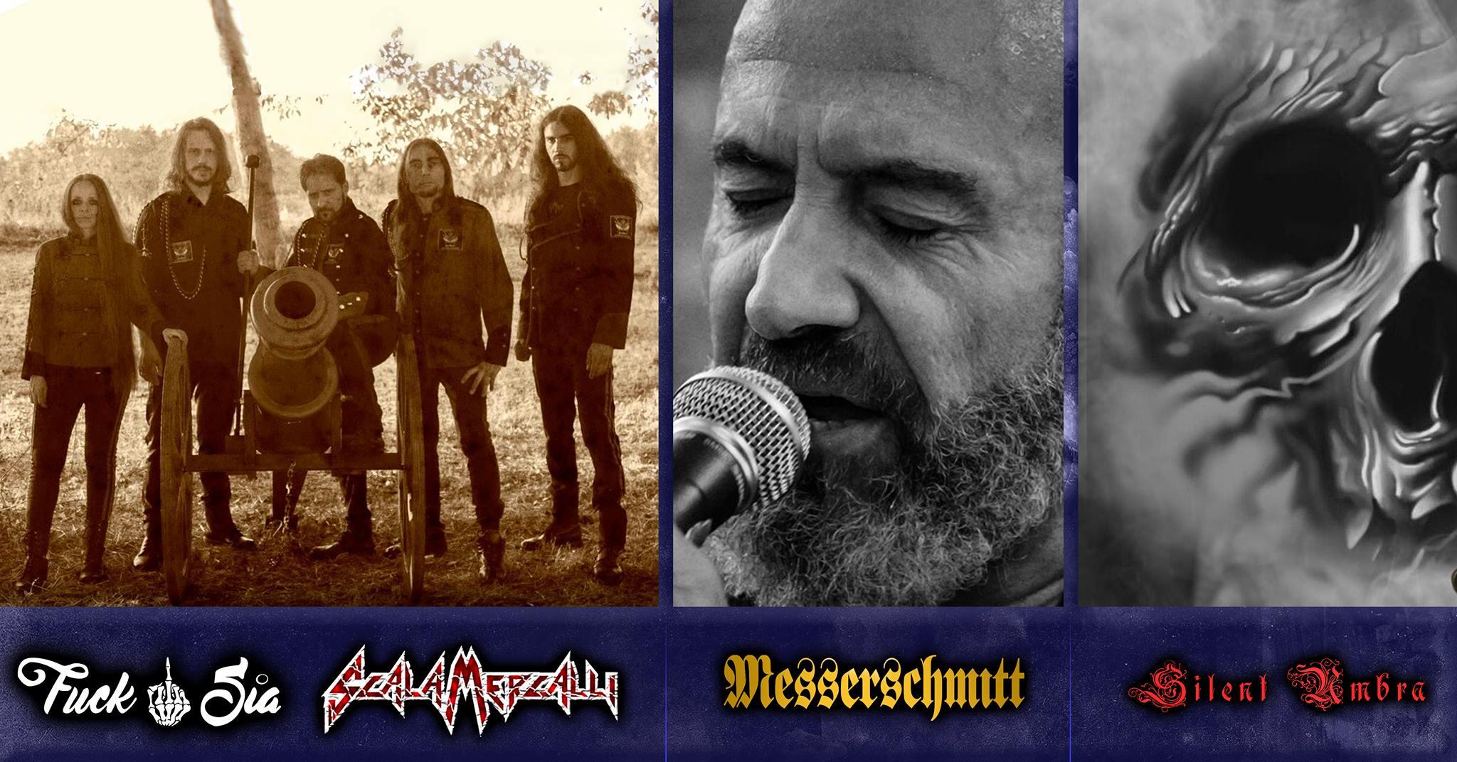 Venerdì 22 marzo: Messerschmitt live al Fucksia con Scala Mercalli