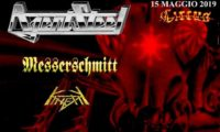 Mercoledì 15 maggio al Circus di Scandicci: i Messerschmitt aprono per gli storici Agent Steel