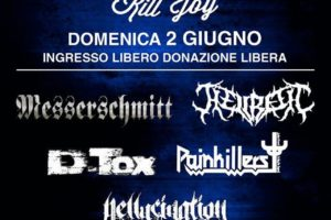 2 giugno 2019 – CHARITY LIVE: Raccolta Fondi per Leo – Rock/Metal SHOW @ KILL JOY